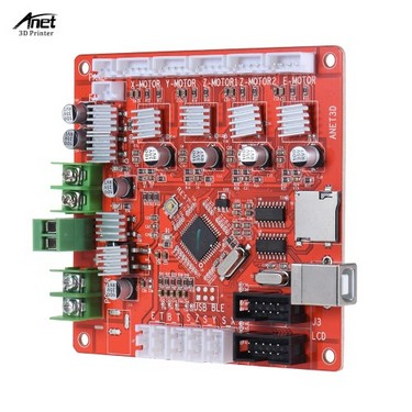 Anet A1284-Base Control Board Mother Board Mainboard for Anet A6 DIY Self Assembly 3D Desktop Printer RepRap Prusa i3 Kit