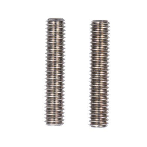 2pcs MK8 M6 * 30mm Stainless Steel Nozzle Extruder Throat Teflon Tubes Pipes for 1.75mm Filament 3D Printer Parts