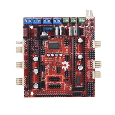 3D Printer Motherboard Reprap RAMPS-FD Shield Ramps 1.4 Control Board Compatible for Arduino Due 3D Printer Controller