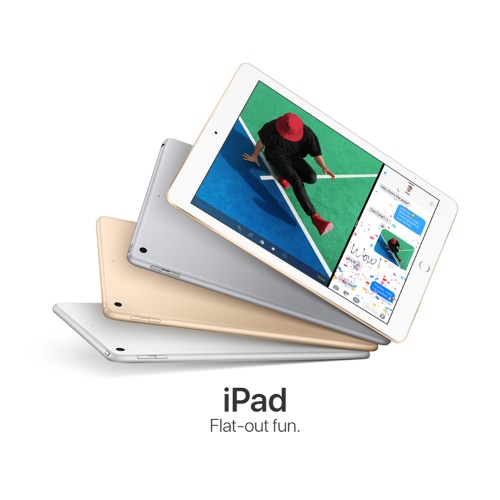 Apple iPad Wi-Fi Only Tablet 9.7inch Retina Display 2048*1536pixel 64bit A9 Chip 32GB iOS 10 8.0MP+1.2MP Camera 32.4Wh Battery Touch ID Siri BT4.2 Apple Pay FaceTime Tablet PC