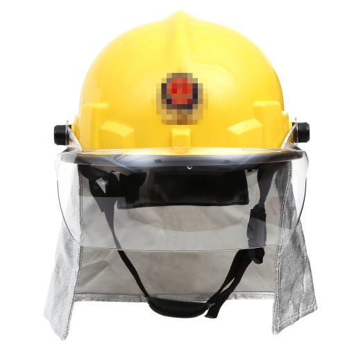 Fire Proof Fireman's Safety Helmet With...