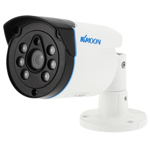KKmoon  960P AHD Bullet Surveillance Waterproof Camera 1.3MP 3.6mm 1/4'' CMOS 6 Array IR LEDs Night Vision IR-CUT Indoor Outdoor CCTV Security PAL System
