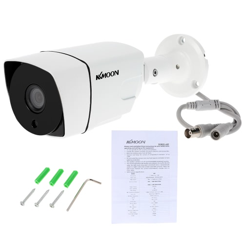 KKmoon  960P AHD CCTV Bullet Camera 1.3MP 3.6mm 1/3'' CMOS 36 IR Lamps Night Vision IR-CUT Waterproof Indoor Outdoor Home Security NTSC System