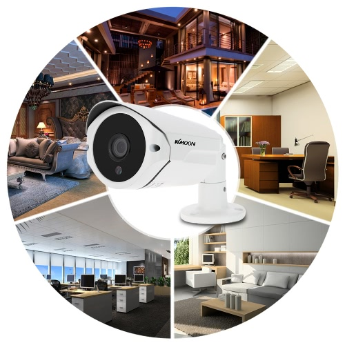 KKmoon  960P AHD Camera 1.3MP 3.6mm 1/3'' CMOS 36 IR LEDs Night Vision IR-CUT Waterproof Indoor Outdoor for CCTV Security NTSC System