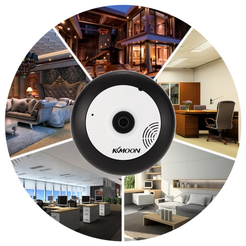 KKmoon® HD 960P 360° Panoramic Fisheye Network IP Camera
