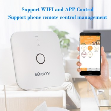 KKmoon 433MHz Wireless WIFI Alarm Security System