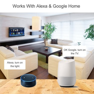 SONOFF TH16 16A/3500W Smart Wifi Switch Monitoring Temperature Humidity Wireless Home Automation Kit Works With Amazon Alexa and for Google Home/Nest