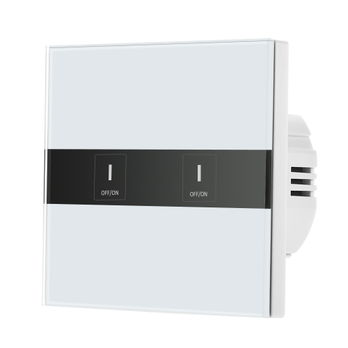 Smart Wifi Touch Switch Touch Screen LED Light Wireless 2 Gang