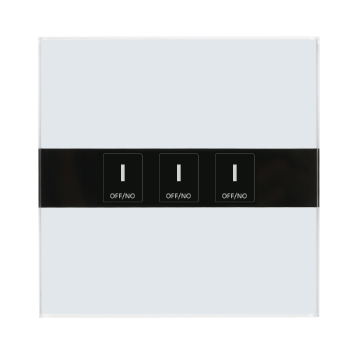 Smart Wifi Touch Switch Touch Screen LED Light Wireless 3 Gang UK