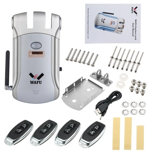 WAFU Wireless Remote Control Electronic Lock