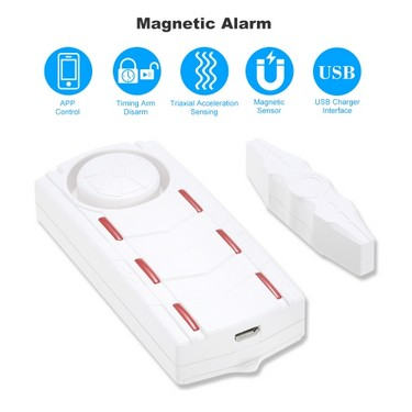 Intelligent Audible Visual Magnetic Alarm