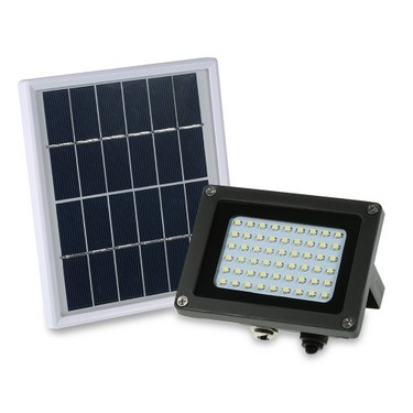 Solar Powered Floodlight 54 LED Solar Lights