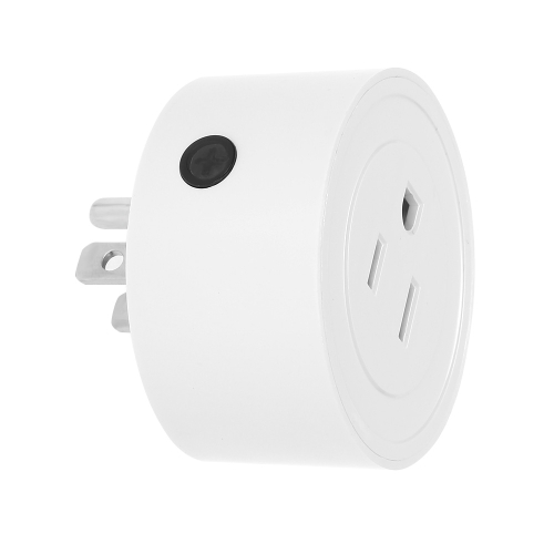 1 Pack Wi-Fi Wireless Mini Smart US Plug Compatible with Amazon Alexa & for Google Home/Nest IFTTT For TP-Link