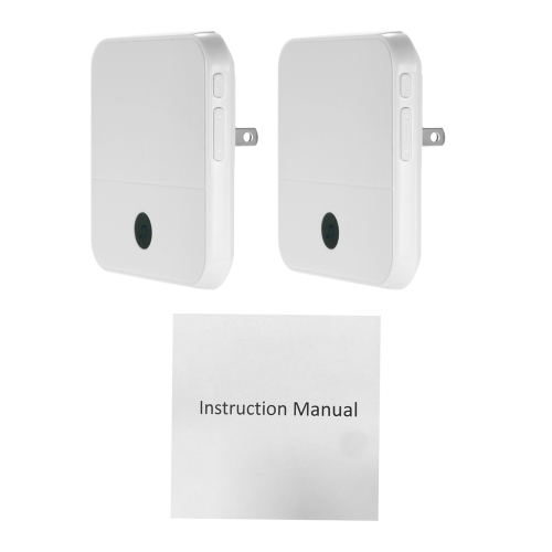 2PCS US Wireless Doorbell Chime