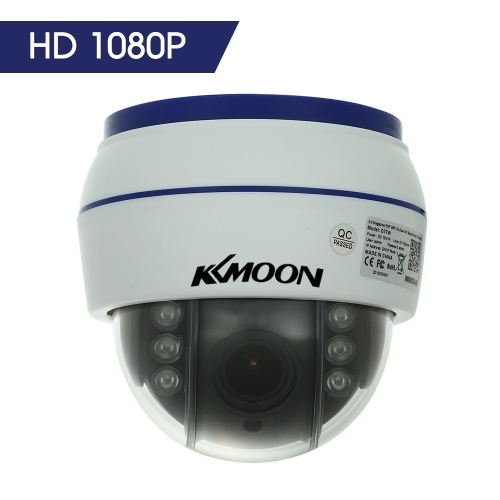 HD 1080P Wireless Dome PTZ IP Camera