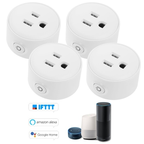 Mini Wifi Smart Socket with Bulgy On/Off Button