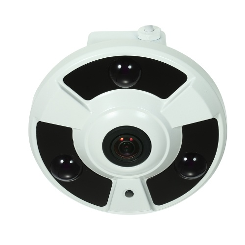 4MP HD 1.7mm Fisheye 180° Panoramic IP Camera