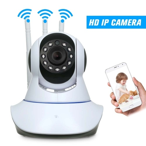 HD 720P 1.0 Megapixels Support Cloud Storage  IP Camera