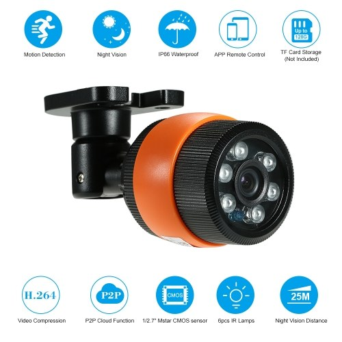 720P IP Camera Security Camera Support Cloud Storage