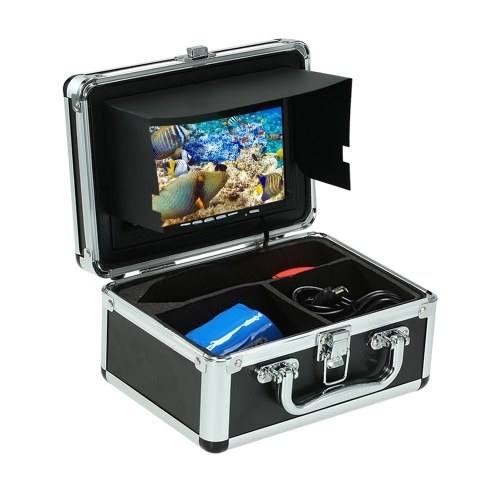 """Fish Finder Underwater Camera With 7"""" LCD Video Monitor with 8GB SD Card"""