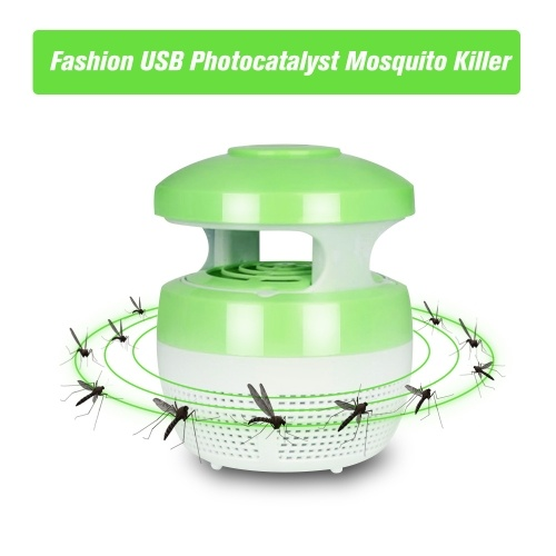 USB Photocatalyst Mosquito Killer Lamp Insect Trap Light