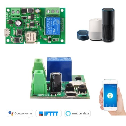 Sonoff  Wifi Switch Wireless Relay Module Smart Home Automation Modules