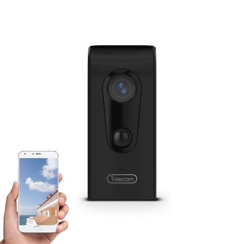 FREECAM Wireless HD 720P  Wire-free Motion-Activated WiFi Camera