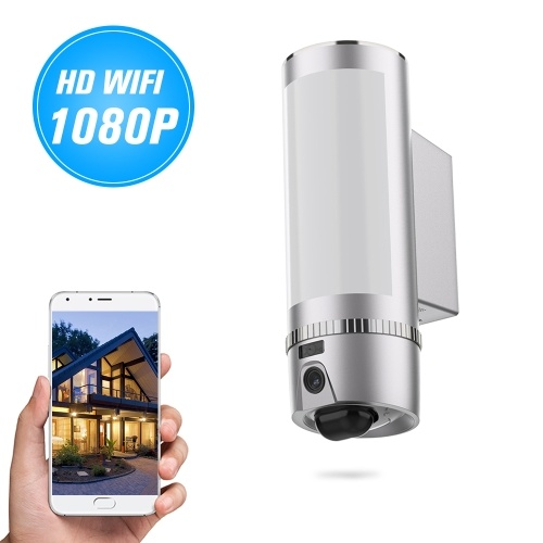 FREECAM L900 Wall-Light Wireless HD 1080P Motion-Detected WiFi Camera