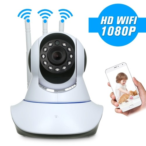 HD 1080P 2.0 Megapixels IP Cloud Camera IR-CUT Filter Infrared Night View Motion Detection