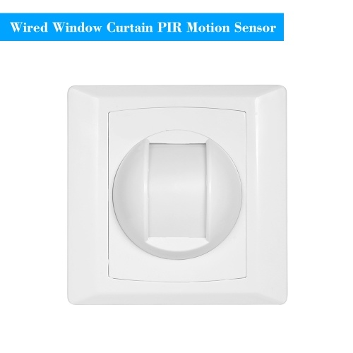 Wired PIR Motion Sensor Window Curtain Passive Infrared Alarm Detector