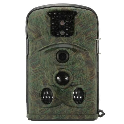 Security Scouting Hunting Trail Camera 12MP 720P 120° Wide Angle