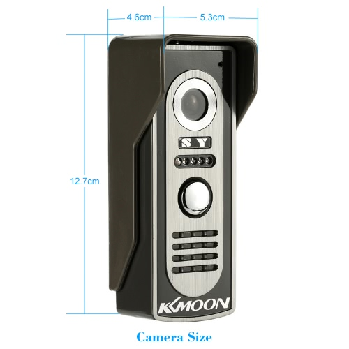 "KKmoon 7"" Wired Video Door Phone System Visua..."