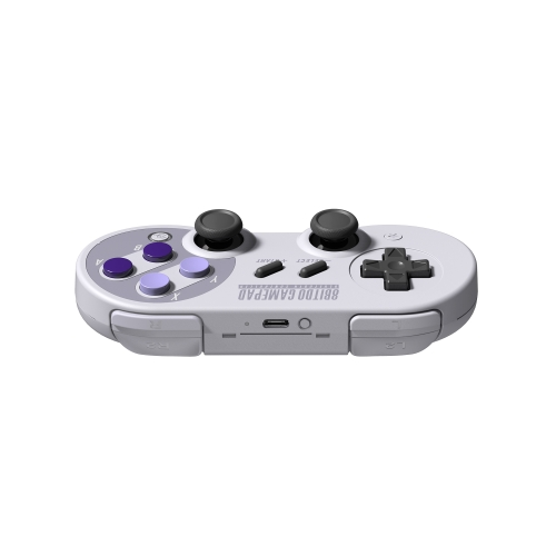 8Bitdo SN30Pro Wireless Game-controller + X Mecha Stretch-fixing Game Handle Holder Set