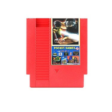NES 150 in 1 Video Game Card 8 Bit 72 Pin Game Card with Battery Memory Function