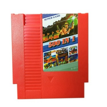 NES 500 in 1 Super Game Collection Game Cartridge 8 Bit 72 Pin Game Card No Repeat