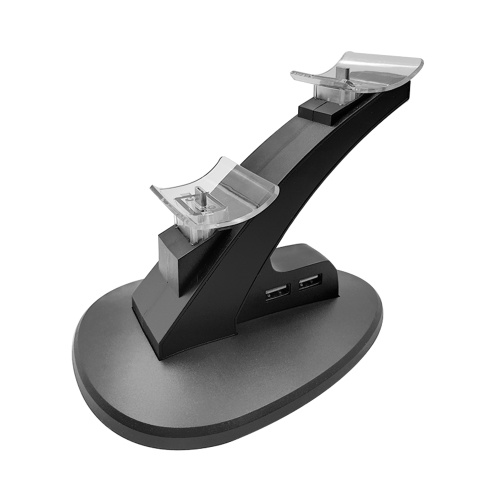Dual USB Charging Charger Dock Station Stand for Playstation Switch Pro Controller Games Accessories