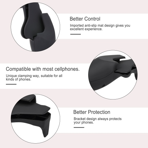 W01 Mobile Gamepad Smartphone Gaming Handle Grip Controller Frosted for Andriod iPad iPhone