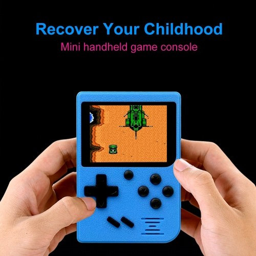 Q6 Handheld Game Console AV Out Gaming Machine 800mAh Battery Built-in 129 Classic Games With 2.4inch Screen Display