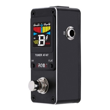 AROMA AT-07 Mini Chromatic Tuner Effect Pedal Mini Single Electric Guitar Effects