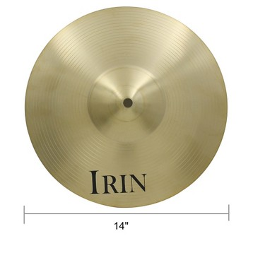 14″ Brass Alloy Crash Ride Hi-Hat Cymbal for Drum Set