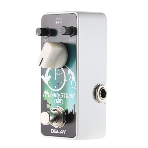 Mighty Sound M5 Mini Delay Electric Guitar Effect Pedal True Bypass
