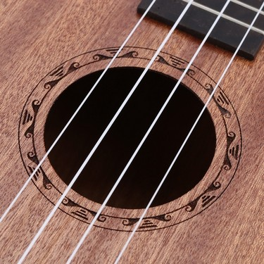 ammoon 24″ Sapele Ukulele 4 Strings Rosewood Fretboard Musical Instrument New Year's Day Gift Present