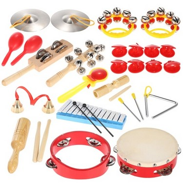 Percussion Set Kids Children Toddlers Musical Toys Instruments