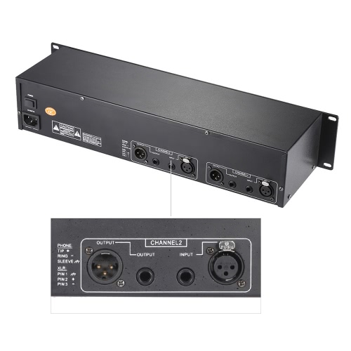 EQ-231 Dual Channel 31-Band Equalizer 2U Rack Mount