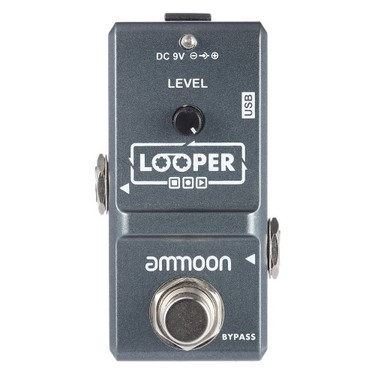 ammoon AP-09 Nano Series Loop Electric Guitar Effect Pedal Looper True Bypass