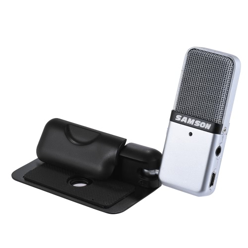 Samson GO Mic Mini Portable Recording Condenser Microphone Clip-on Design