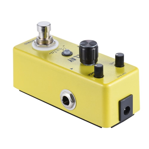 Mini Pure Analog Delay Guitar Effect Pedal True Bypass Aluminum Alloy Body