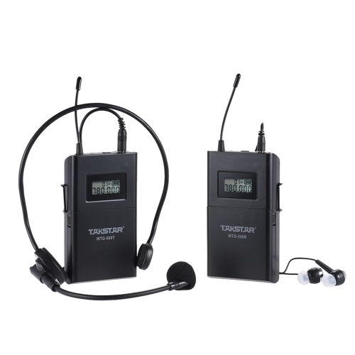 TAKSTAR WTG-500 UHF Wireless Acoustic Transmission System (Transmitter + Receiver)