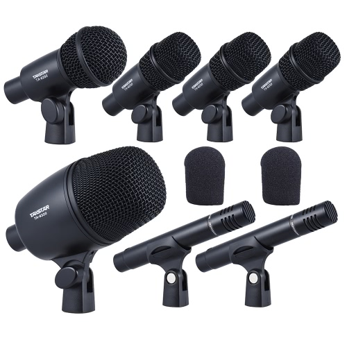 TAKSTAR DMS-7AS Professional Wired Microphone Mic Kit