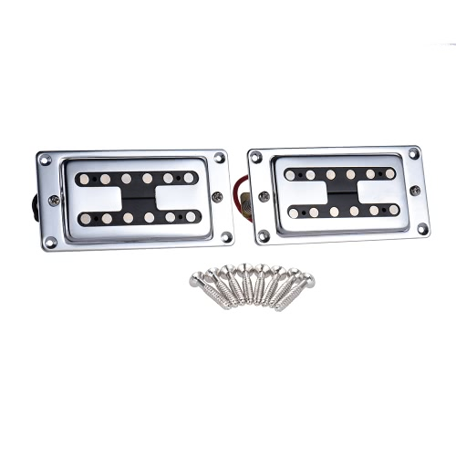 High-quality Double Coil Guitar Sealed Humbucker Pickups Pick-ups for LP Electric Guitars with Mounting Screws (Pack of   2pcs)